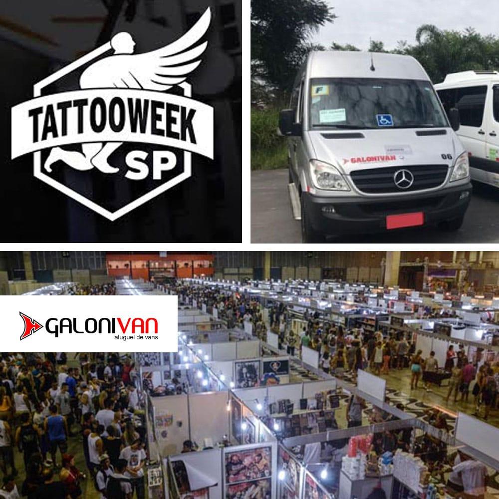 Van para Tattoo Week