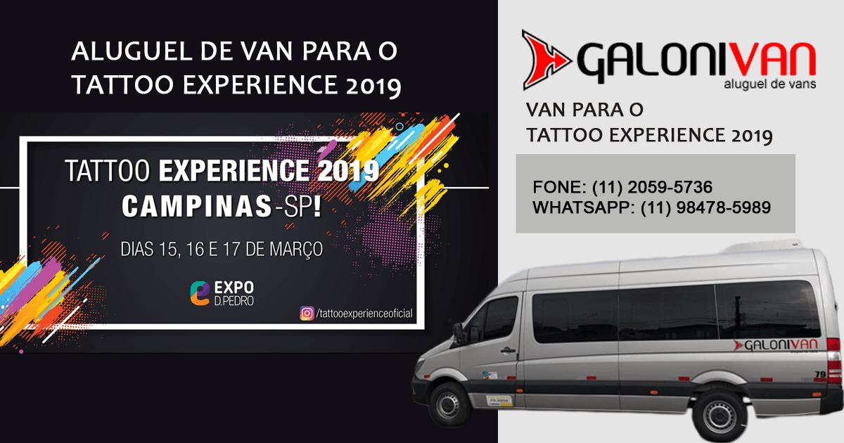 Van para Tattoo Experience