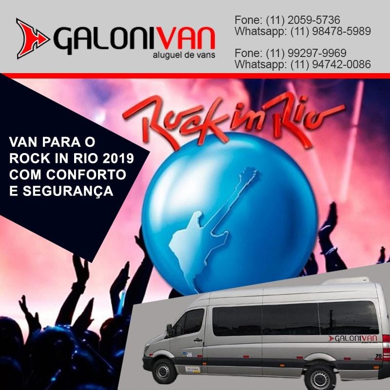 Van Para o Rock In Rio