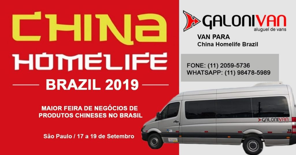 China Homelife Brazil 2019
