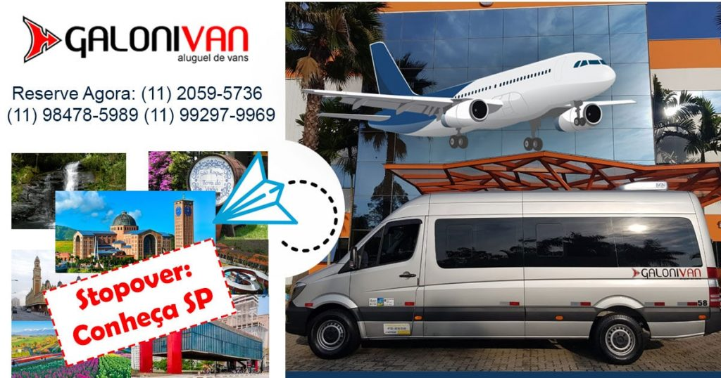 Stopover SP - City Tour com a Galoni Van