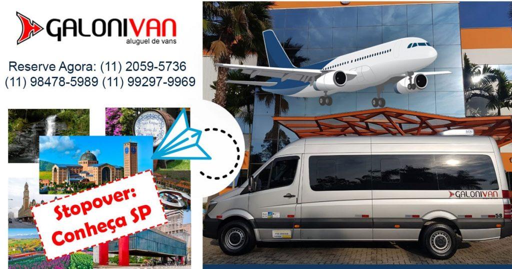 Stopover SP - City Tour com a Galoni Van