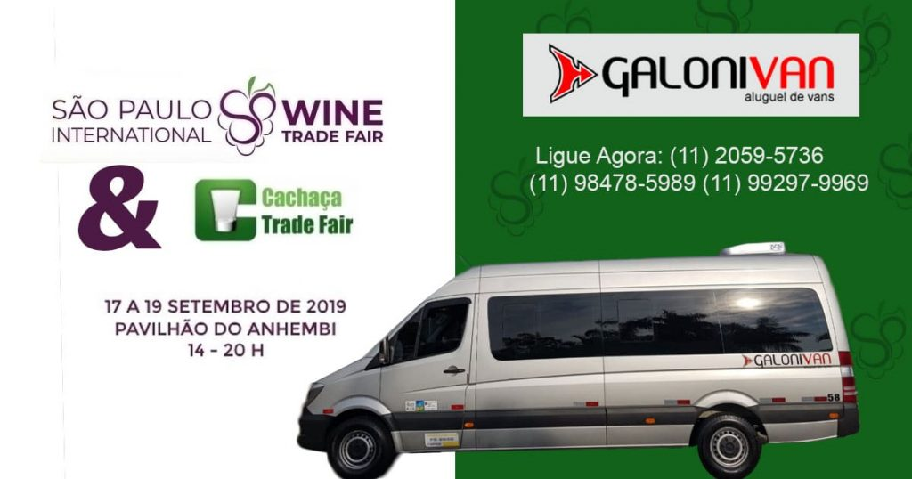 Wine Trade Fair e Cachaça Trade Fair