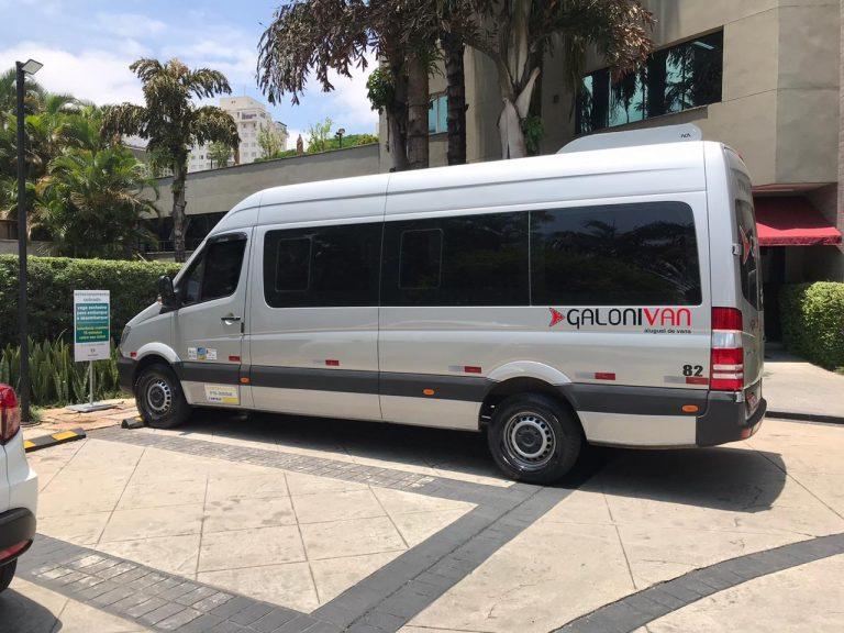 Aluguel de vans em São Paulo