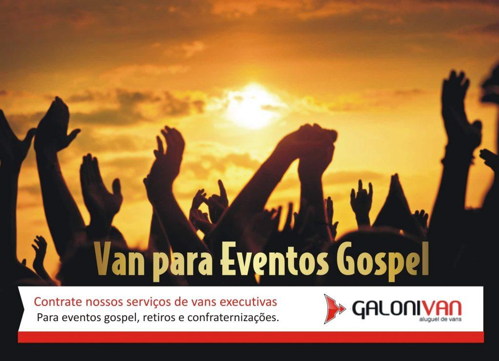 aluguel de vans para eventos evangélicos