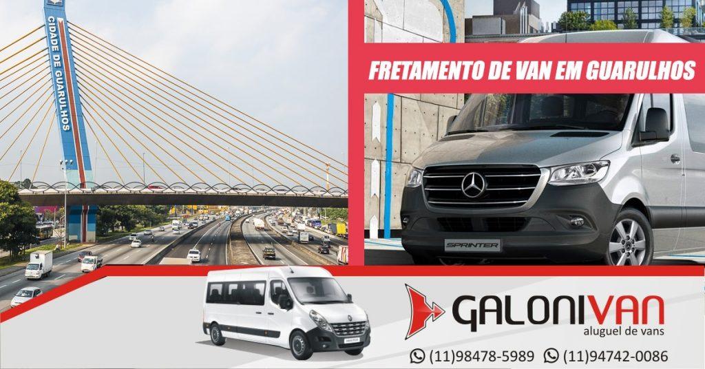 Fretamento de van em Guarulhos