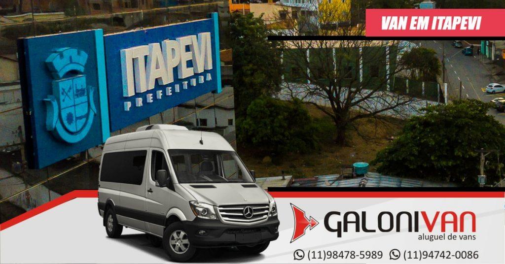 Locação de Van em Itapevi